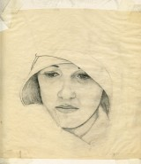 """Sketch of new face for """"Flapper by Gary Brunson"""