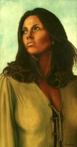 Painting of Janice Pennington by Gary Brunson