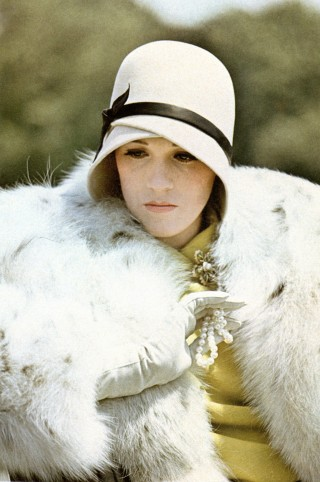 """Photo of Julie Andrews used for """"Flapper in Fur and Pearls."""""""